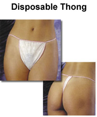 Spray Tan 50 x Tanga Lilly Thongs - low cost spray tanning disposables and accessories | SprayTanSupermarket